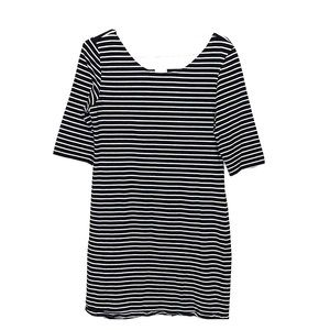 🌟2 FOR 20🌟 GARAGE Black and white striped dress